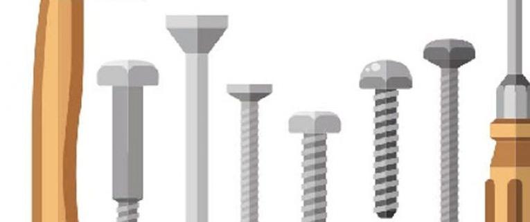استفاده از پیچ و یا میخ در نجاری و سازه های چوبی